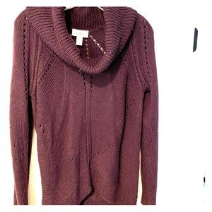 Ann Taylor Loft cowl neck sweater